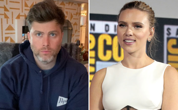 What! Colin Jost Blames Fiance Scarlett Johnnson For SNL Guitar Moment