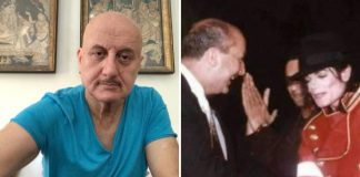 When Anupam Kher broke barricade to hug MJ