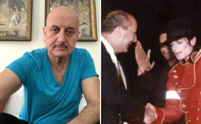 Anupam Kher Is All Smiles After Hugging Michael Jackson