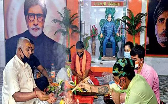 Amitabh Bachchan Temple In Kolkata Performs Yagna For Big B's Health!