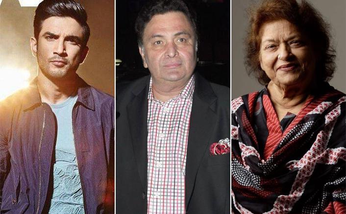 Sushant Singh Rajput To Rishi Kapoor & Saroj Khan - Bollywood Gems We Lost During The Lockdown