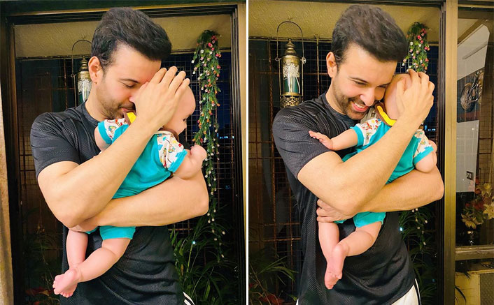 Aamir Ali Shares First Glimpse Of His Lil. Munchkin On Her Birthday; Mouni Roy, Karishma Tanna & Others Congratulate(Pic credit: Instagram/aamirali)