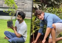 Actor Vijay Takes Up Mahesh Babu's Green India Challenge & Plants A Sapling