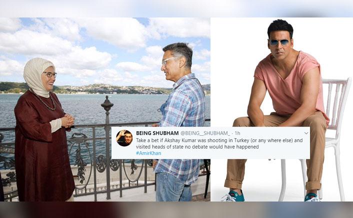 After Aamir Khan, Now Akshay Kumar Is Being Trolled On Twitter; The Reason Will Make You LOL!(Pic credit: Instagram/akshaykumar ,Twitter/Emine Erdoğan)