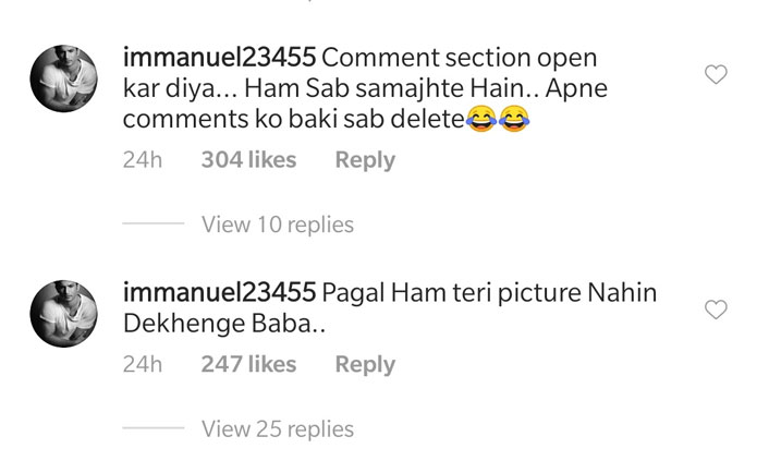 Fans reply to Alia Bhatt's recent Instagram post