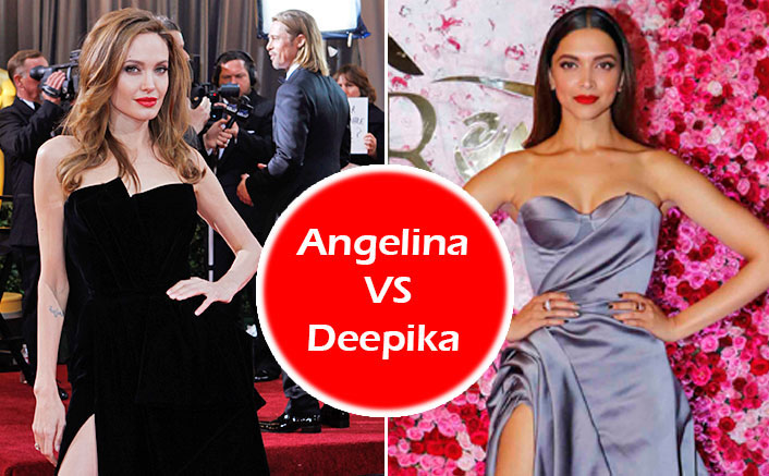 Angelina Jolie VS Deepika Padukone Fashion Face-Off: Who Rocked The Thigh-High Slit Better?