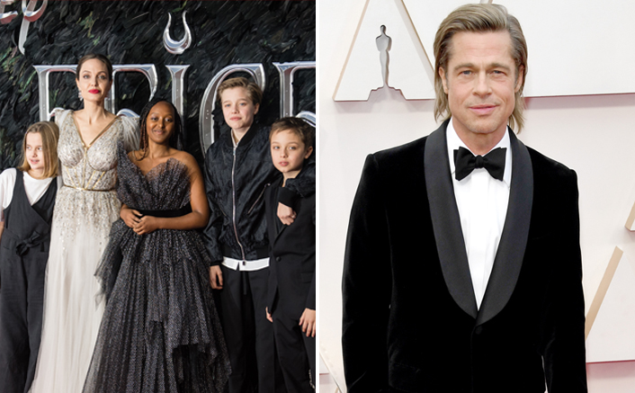 Brad Pitt Upset Because Angelina Jolie Wants To Quit LA & Move To The UK With Her Kids?
