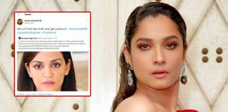 Ankita reaffirms support to Sushant's family in their fight for justice