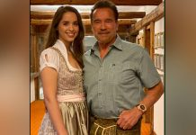 Arnold Schwarzenegger, daughter Christina take a bike spin