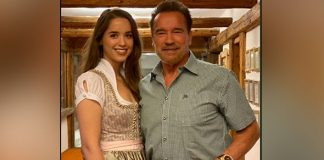 Arnold Schwarzenegger, daughter Christina take a bike spin