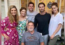 Arnold Schwarzenegger ENJOYS His Birthday With Ex-Wife Maria Shriver, Son Patrick & The Co.