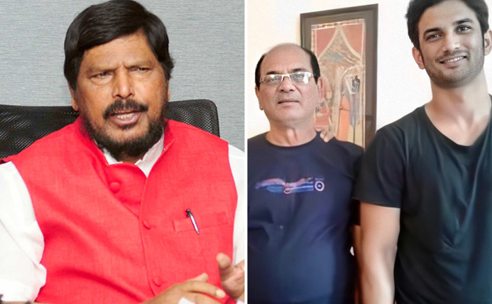 Athawale meets Sushant's father, says Bollywood mafia will be exposed
