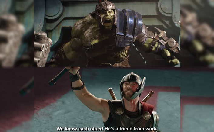 """Avengers: Endgame Trivia #121: Thor: Ragnarok's """"He's A Friend From Work!"""" Has This EMOTIONAL Backstory About It!"""