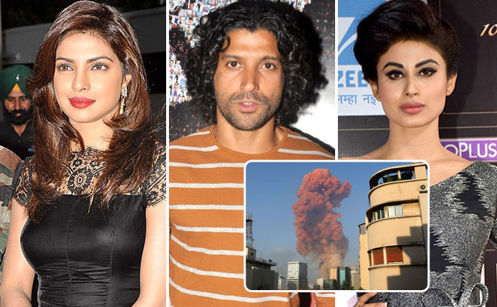 Beirut Explosion: Priyanka Chopra, Farhan Akhtar, Mouni Roy share solidarity for the Families Affected by this Tragedy