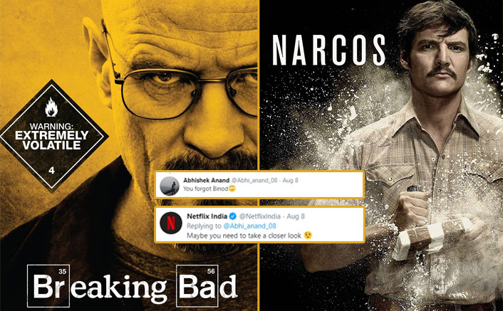 Breaking Bad, Narcos Is Alright! A Whole BINOD Is On Netflix, Have A Closer Look To Know