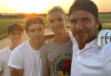 """David Beckham Shares A Selfie With His Sons, Captions It """"Nothing Like A Fathers Bond With His Sons"""""""
