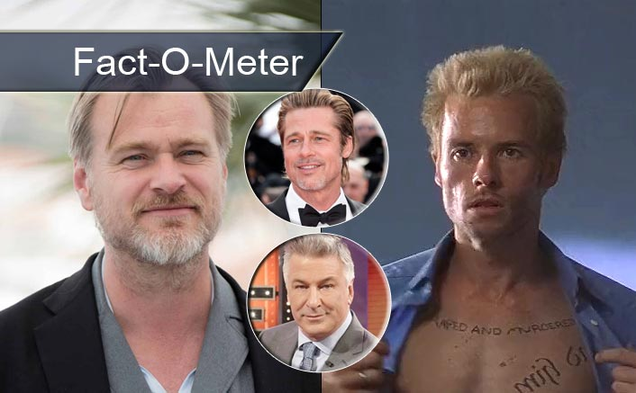 Fact-O-Meter: Did You Know? Before Guy Pearce, Christopher Nolan Had Alec Baldwin, Brad Pitt & Others In His Mind For Memento!