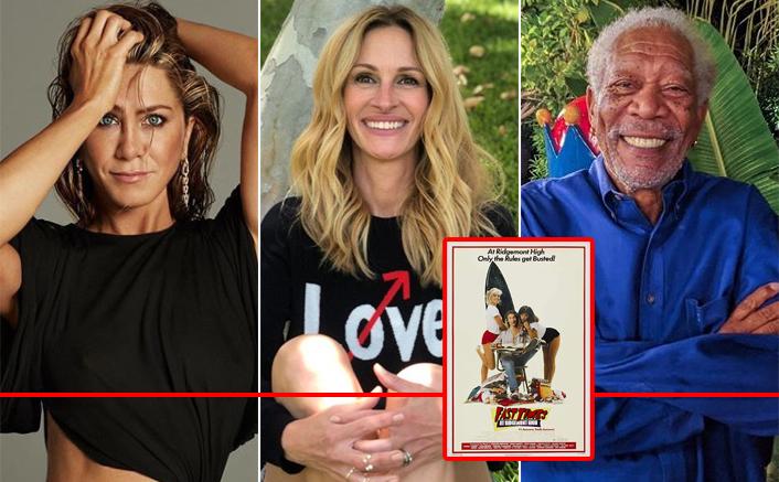 Jennifer Aniston, Julia Roberts & Morgan Freeman Set For The Awaited Benefit Table Read Of Fast Times At Ridgemont High