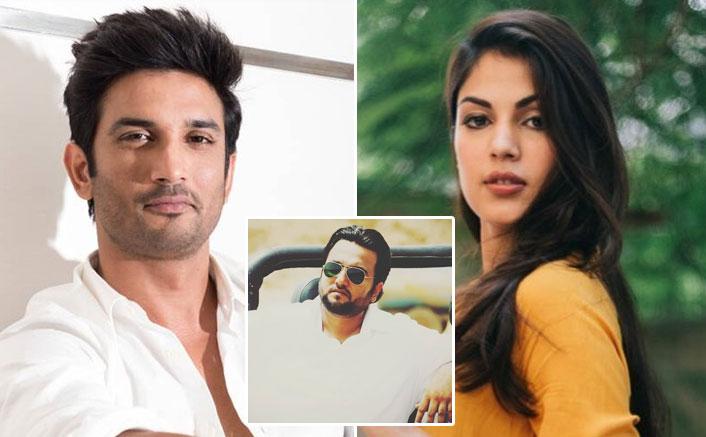 "Filmmaker Drops The Idea Of Signing Rhea Chakraborty, Says ""Don't Want To Hurt The Sentiments Of Sushant Singh Rajput Fans""(Pic credit: Instagram/ijaybhanushali, directorlom, sushantsinghrajput)"