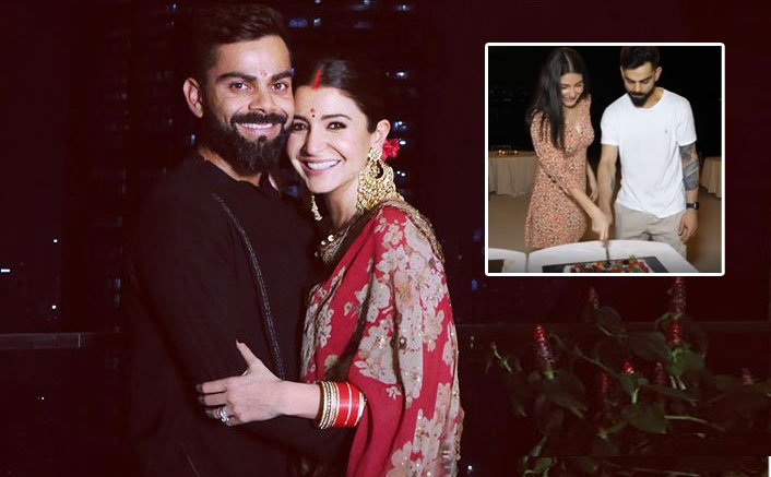 Anushka Sharma & Virat Kohli Celebrate The Big News With Royal Challengers Bangalore Team In Dubai - WATCH!