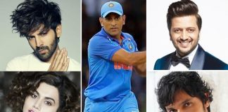 From Kartik Aaryan & Taapsee Pannu To Ritesh Deshmukh & Randeep Hooda, Bollywood Takes To Twitter Reacting To M.S. Dhoni's Retirement News