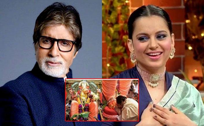 Ganesh Chaturthi 2020: From Amitabh Bachchan To Kangana Ranaut, Celebs Wish Their Fans!