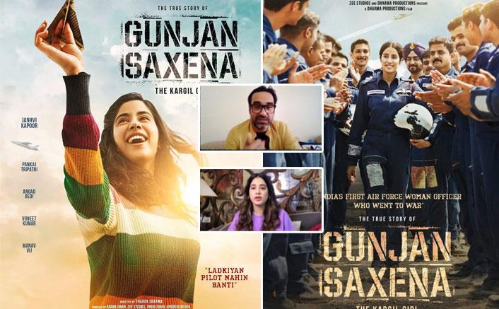 Gunjan Saxena: Pankaj Tripathi Calls Trolls 'Roothe Huye Rishtedaar' In This Extremely Funny Video With Janhvi Kapoor(Pic credit: Instagram/netflix_in)