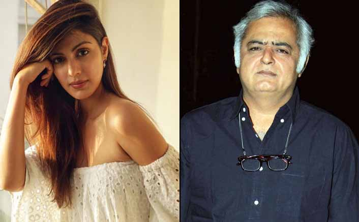Hansal Mehta on Rhea: Let her guilt/innocence be proved in a court of law