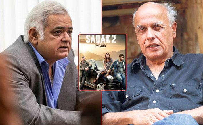 Sadak 2: Hansal Mehta Comes In Rescue Of Mentor Mahesh Bhatt