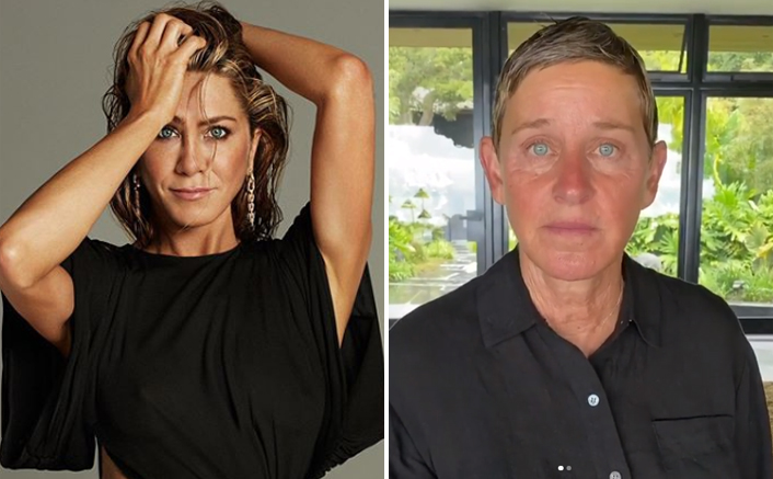 Amid All The Accusations On Ellen DeGeneres Show, Netizens Ask Where's Her Dear Friend Jennifer Aniston In The Time Of Need?