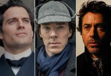 Henry Cavill, Benedict Cumberbatch or Robert Downey Jr - Vote For The Best Sherlock Holmes!