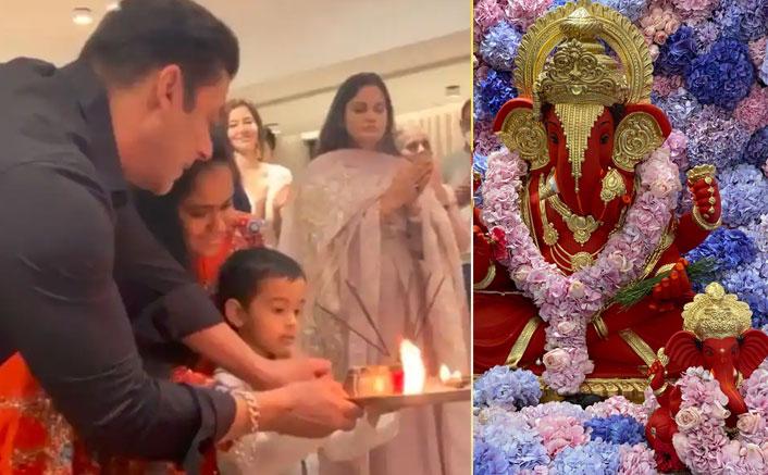 Salman Khan's Ganesh Chaturthi Celebrations With Family Will Make You Scream Ganpati Bappa Morya With Joy!