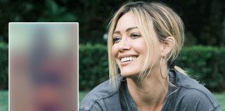 Hilary Duff flaunts toned abs