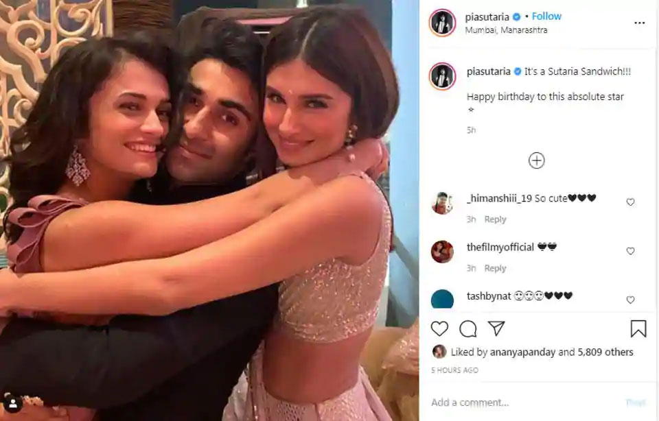 Wait Did Tara Sutaria & Aadar Jain Make Their Relationship Insta-Official?