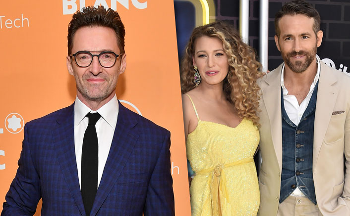 Hugh Jackman Takes A Jibe At Ryan Reynolds In 'Wolverine' Style Whilst Wishing Blake Lively