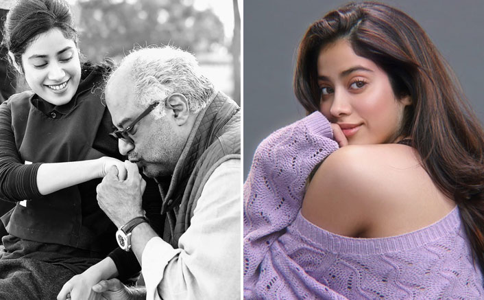 Janhvi Kapoor Sees A 'Cute Cheerleader' In Boney Kapoor & We Totally Agree!
