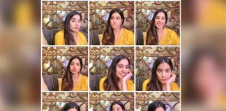 Janhvi Kapoor shares her many moods of digital promotion