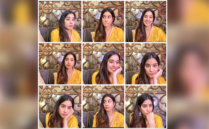 Janhvi Kapoor's Expressions In THIS Picture Can Make For Perfect Emojis(Pic credit: Instagram/janhvikapoor)