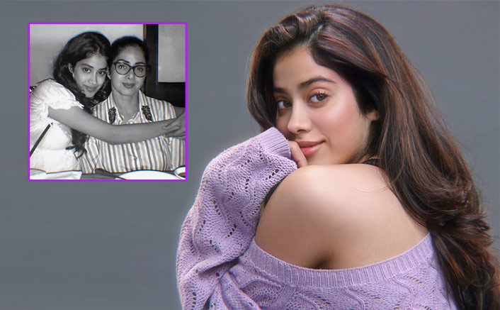 Janhvi Kapoor Posts A Picture With Sridevi On Her 57th Birth Anniversaryy(Pic credit: Instagram/janhvikapoor)