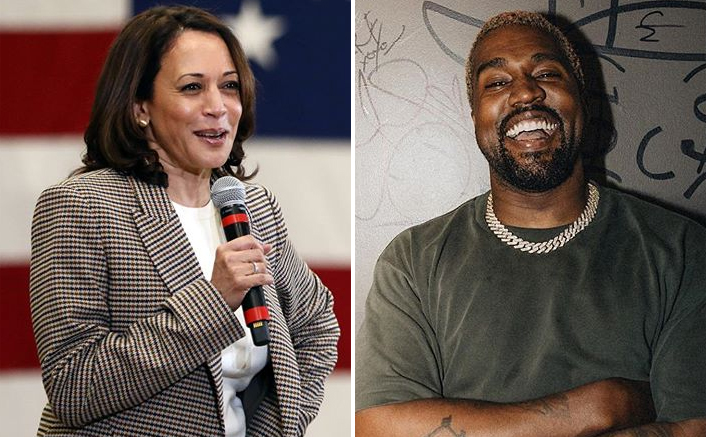 Kamala Harris Gets Support From Kanye West, Latter Calls Himself The 'Future President'