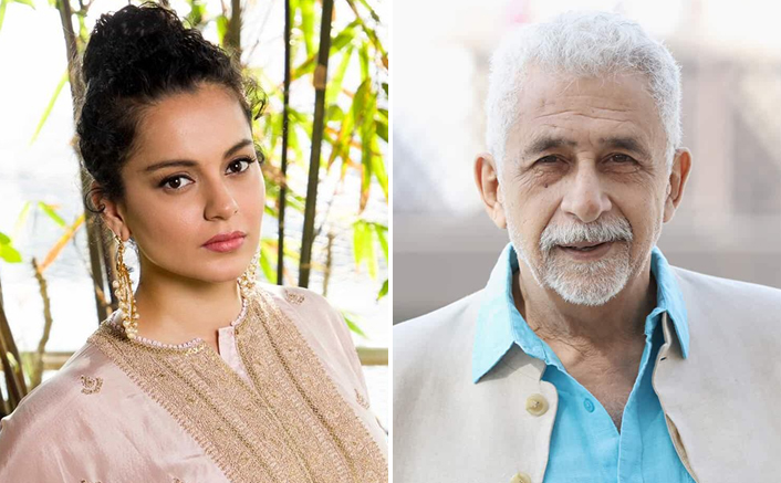 """Kangana Ranaut Hits Back At Naseeruddin Shah After His Half-Educated Comment: """"Would You Say This If I Was Anil Kapoor's Daughter?"""""""