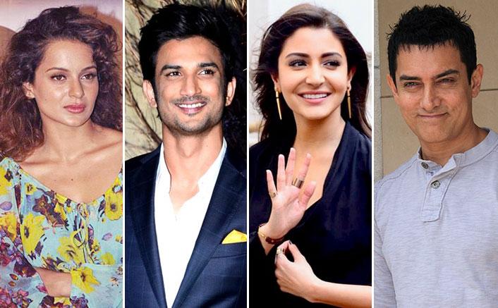 "Kangana Ranaut Slams Aamir Khan-Anushka Sharma For Silence Over Sushant Singh Rajput Case: ""You're Making It Look Like Some Fly Died"""