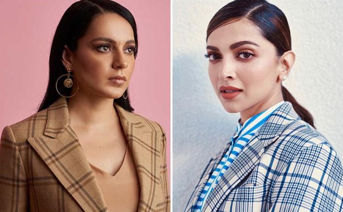 """Kangana Ranaut Takes A Jibe At Deepika Padukone, Writes """"Repeat After Me, Depression Ka Dhandha Chalane Walon…"""""""