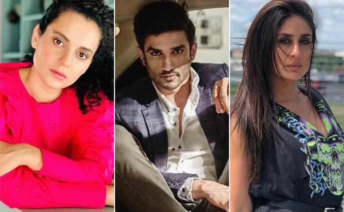 Kangana Ranaut's Team Blames Kareena Kapoor Khan & Other Star Kids For Sushant Singh Rajput's Murder