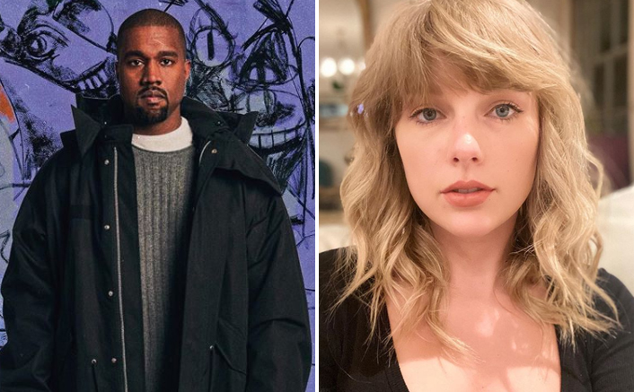 Kanye West Takes A Dig At Taylor Swift & Brings Up Kim Kardashian's 'Snake' Insult Once Again