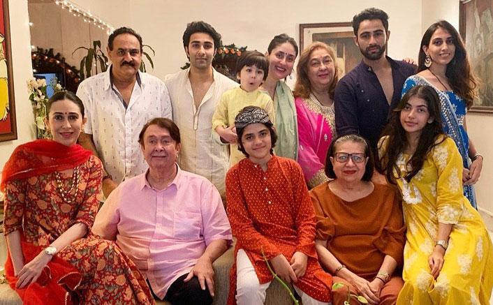 Kareena, Karisma post pics of Ganpati celebrations of Kapoors