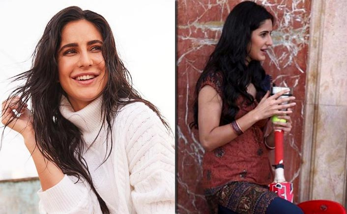 Katrina Kaif Wearing Indian Attire Holds A Cricket Bat & The Photo's Caption Wins The Match