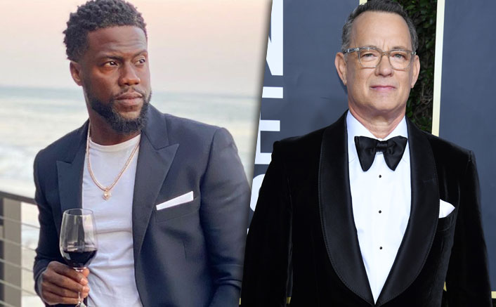 "Kevin Hart Confirms Testing COVID-19 Positive Around The Same Time As Tom Hanks: ""I Couldn't Say Anything Because...""(Pic credit: Instagram/kevinhart4real, getty images)"