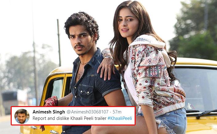 Khaali Peeli: After Sadak 2, Netizens 'Punish' Ananya Panday & Ishaan Khatter Starrer's Teaser With Dislikes(Pic credit: Instagram/ishaankhatter)