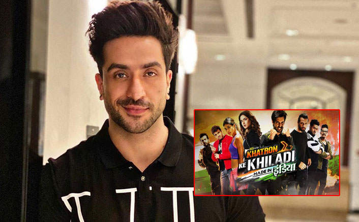 Khatron Ke Khiladi - Made In India: Aly Goni Tripping Over His Barbie Theme Vanity Van; Watch Video Now!